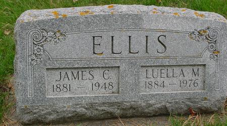 ELLIS, JAMES & LUELLA M. - Sac County, Iowa | JAMES & LUELLA M. ELLIS