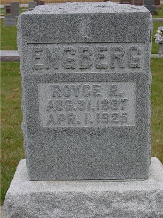 ENGBERG, ROYCE R. - Sac County, Iowa | ROYCE R. ENGBERG