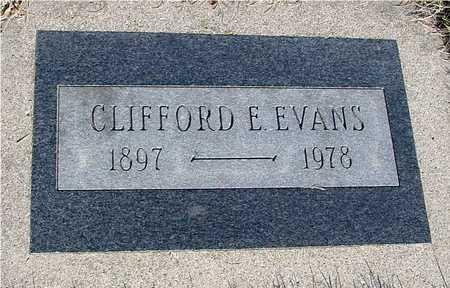 EVANS, CLIFFORD E. - Sac County, Iowa | CLIFFORD E. EVANS