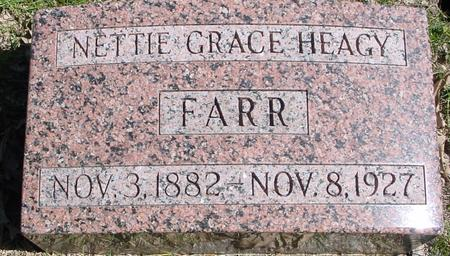 FARR, NETTIE GRACE - Sac County, Iowa | NETTIE GRACE FARR