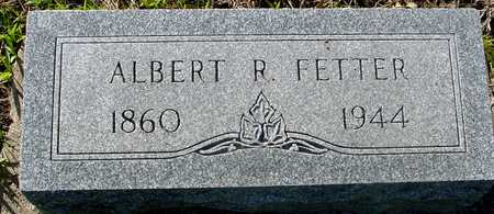 FETTER, ALBERT R. - Sac County, Iowa | ALBERT R. FETTER