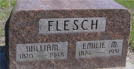 FLESCH, WILLIAM & EMILIE - Sac County, Iowa | WILLIAM & EMILIE FLESCH