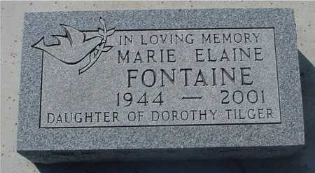 FONTAINE, MARIE ELAINE - Sac County, Iowa | MARIE ELAINE FONTAINE