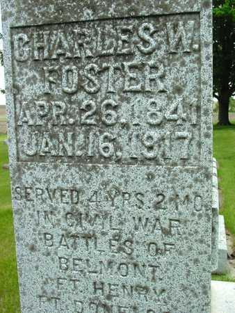 FOSTER, CHARLES W. - Sac County, Iowa | CHARLES W. FOSTER