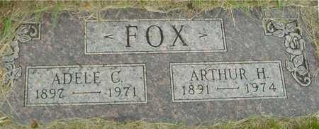 FOX, ARTHUR & ADELE - Sac County, Iowa | ARTHUR & ADELE FOX