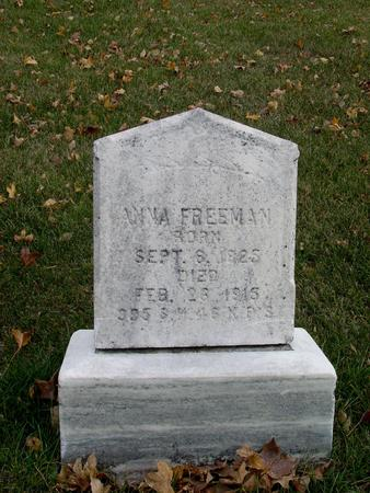 FREEMAN, ANNA - Sac County, Iowa | ANNA FREEMAN