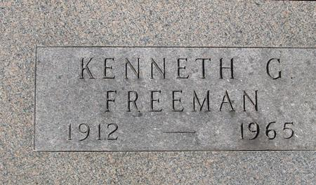 FREEMAN, KENNETH G. - Sac County, Iowa | KENNETH G. FREEMAN