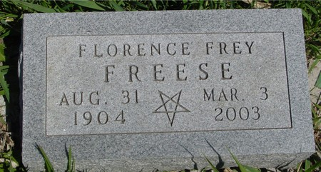 FREESE, FLORENCE - Sac County, Iowa | FLORENCE FREESE