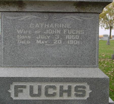FUCHS, CATHARINE - Sac County, Iowa | CATHARINE FUCHS