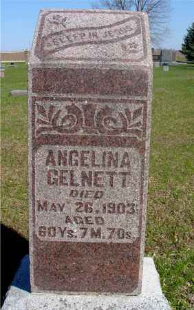 GELNETT, ANGELINA - Sac County, Iowa | ANGELINA GELNETT