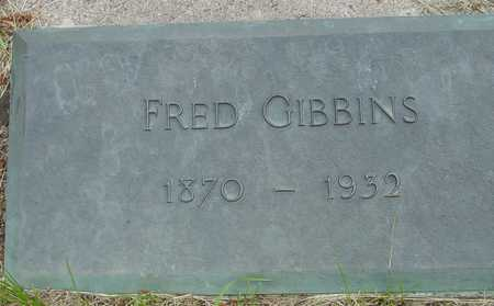 GIBBINS, FRED - Sac County, Iowa | FRED GIBBINS