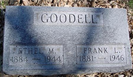 GOODELL, FRANK & ETHEL - Sac County, Iowa | FRANK & ETHEL GOODELL