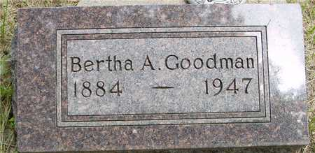 GOODMAN, BERTHA A. - Sac County, Iowa | BERTHA A. GOODMAN