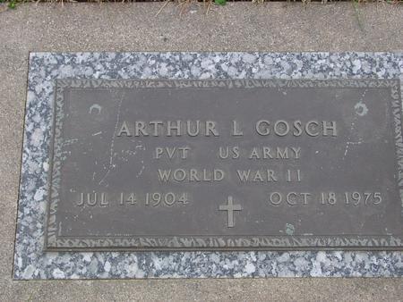 GOSCH, ARTHUR L. - Sac County, Iowa | ARTHUR L. GOSCH