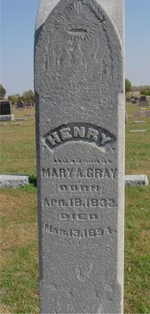 GRAY, HENRY - Sac County, Iowa | HENRY GRAY