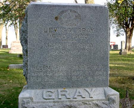 GRAY, LEWIS M. - Sac County, Iowa | LEWIS M. GRAY