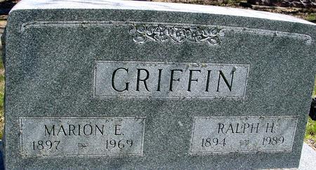 GRIFFIN, RALPH & MARION E. - Sac County, Iowa | RALPH & MARION E. GRIFFIN
