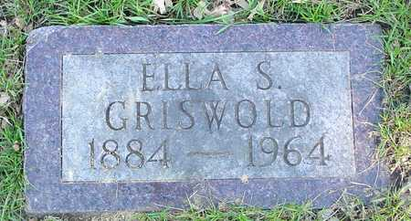 GRISWOLD, ELLA S. - Sac County, Iowa | ELLA S. GRISWOLD