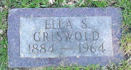 GRISWOLD, ELLA S. - Sac County, Iowa   ELLA S. GRISWOLD