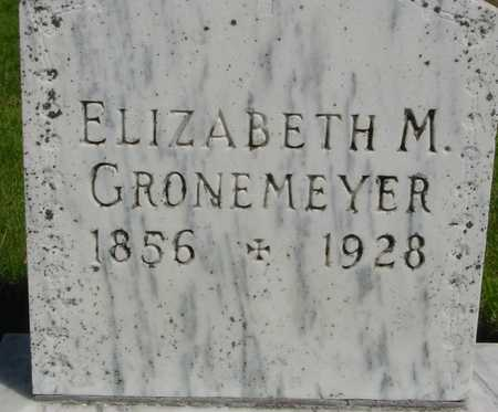 GRONEMEYER, ELIZABETH M. - Sac County, Iowa | ELIZABETH M. GRONEMEYER