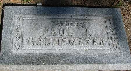 GRONEMEYER, PAUL J. - Sac County, Iowa | PAUL J. GRONEMEYER