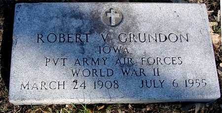GRUNDON, ROBERT V. - Sac County, Iowa | ROBERT V. GRUNDON