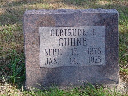 GUHNE, GERTRUDE J. - Sac County, Iowa | GERTRUDE J. GUHNE