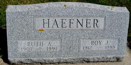 HAEFNER, ROY J. & RUTH A. - Sac County, Iowa | ROY J. & RUTH A. HAEFNER