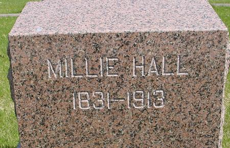 HALL, MILLIE - Sac County, Iowa | MILLIE HALL