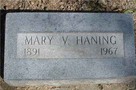 HANING, MARY V. - Sac County, Iowa | MARY V. HANING