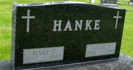HANKE, LOUIE & MARY C. - Sac County, Iowa | LOUIE & MARY C. HANKE