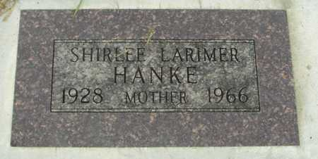 HANKE, SHIRLEE - Sac County, Iowa | SHIRLEE HANKE