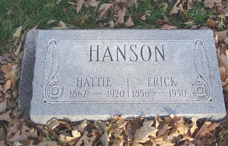 HANSON, ERICK & HATTIE - Sac County, Iowa | ERICK & HATTIE HANSON