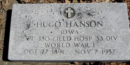 HANSON, HUGH - Sac County, Iowa | HUGH HANSON