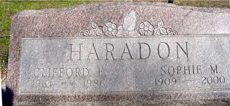 HARADON, CLIFFORD F. & SOPHIE - Sac County, Iowa | CLIFFORD F. & SOPHIE HARADON