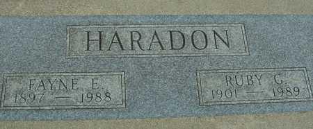 HARADON, FAYNE & RUBY - Sac County, Iowa | FAYNE & RUBY HARADON