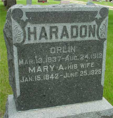 HARADON, ORLIN & MARY - Sac County, Iowa | ORLIN & MARY HARADON