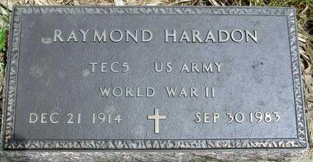 HARADON, RAYMOND - Sac County, Iowa | RAYMOND HARADON