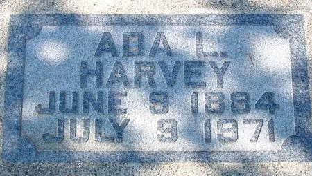 HARVEY, ADA L. - Sac County, Iowa | ADA L. HARVEY