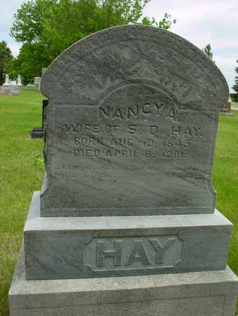 HAY, NANCY A. - Sac County, Iowa | NANCY A. HAY