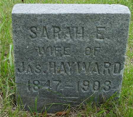 HAYWARD, SARAH E. - Sac County, Iowa | SARAH E. HAYWARD