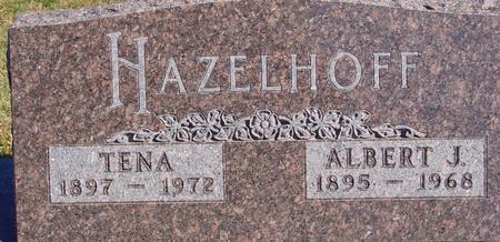 HAZELHOFF, ALBERT & TENA - Sac County, Iowa | ALBERT & TENA HAZELHOFF