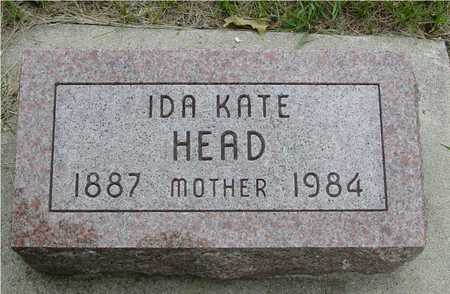 HEAD, IDA KATE - Sac County, Iowa | IDA KATE HEAD