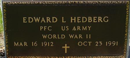 HEDBERG, EDWARD L. - Sac County, Iowa   EDWARD L. HEDBERG