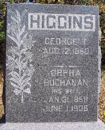 HIGGINS, GEORGE T - Sac County, Iowa | GEORGE T HIGGINS