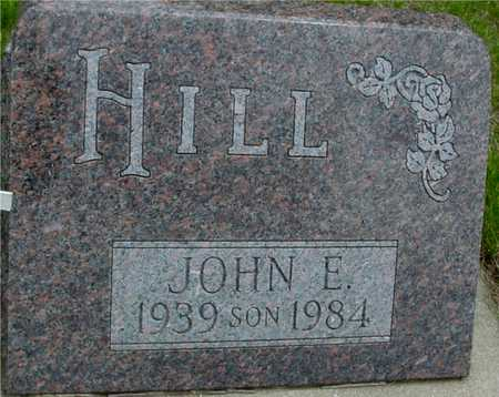 HILL, JOHN E. - Sac County, Iowa | JOHN E. HILL