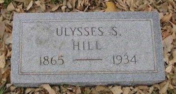 HILL, ULYSSES - Sac County, Iowa | ULYSSES HILL