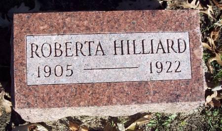 HILLIARD, ROBERTA - Sac County, Iowa   ROBERTA HILLIARD