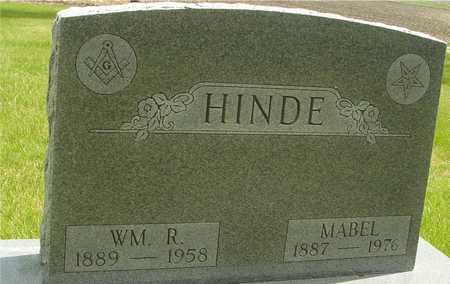 HINDE, WILLIAM & MABEL - Sac County, Iowa | WILLIAM & MABEL HINDE