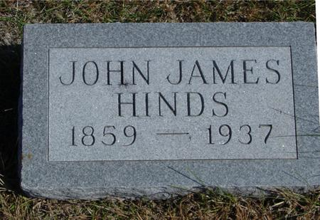HINDS, JOHN JAMES - Sac County, Iowa | JOHN JAMES HINDS